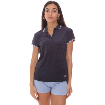 textil Dame Polo-t-shirts m. korte ærmer Colmar 8733 2TQ Blå