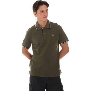 textil Herre Polo-t-shirts m. korte ærmer Museum MS21BEUPC06PT542 Grøn