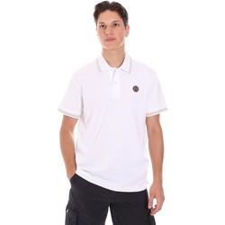 textil Herre Polo-t-shirts m. korte ærmer Museum MS21BEUJA05NY918 Blå