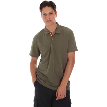 textil Herre Polo-t-shirts m. korte ærmer Museum MS21BEUPC06MO936 Grøn