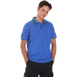 textil Herre Polo-t-shirts m. korte ærmer Invicta 4452240/U Blå