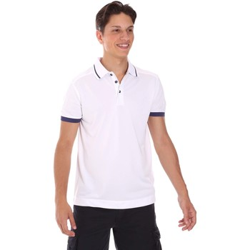 textil Herre Polo-t-shirts m. korte ærmer Invicta 4452253/U hvid