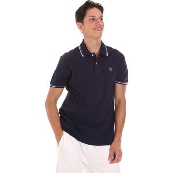textil Herre Polo-t-shirts m. korte ærmer Museum MS21BEUPC06PT542 Blå