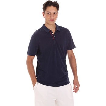 textil Herre Polo-t-shirts m. korte ærmer Museum MS21BEUPC06MO936 Blå