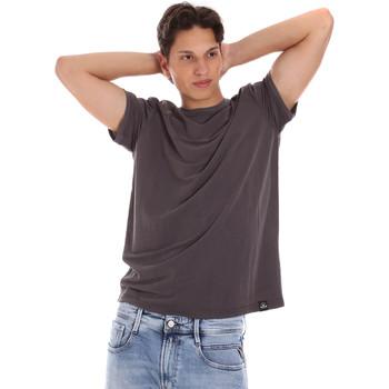 textil Herre T-shirts m. korte ærmer Museum MS21BEUTC08MO938 Grå