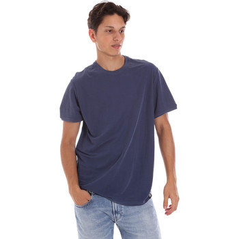 textil Herre T-shirts m. korte ærmer Museum MS21BEUTC08MO938 Blå