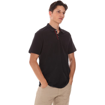 textil Herre Polo-t-shirts m. korte ærmer Museum MS21BEUPC06MO936 Sort