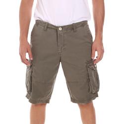 textil Herre Shorts Gaudi 111GU25042 Grøn