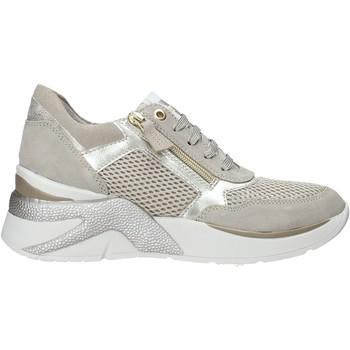 Sko Dame Lave sneakers Valleverde 18302 Grå