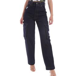 textil Herre Lige jeans Karl Kani KRCKKMQ12036 Blå