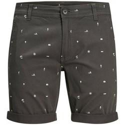 textil Herre Shorts Produkt Takm chino 12171311 Grå