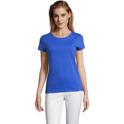 textil Dame T-shirts m. korte ærmer Sols CAMISETA MANGA CORTA RAINBOW Azul