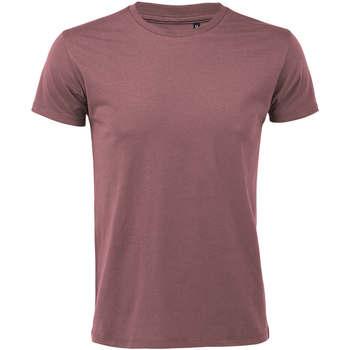 textil Herre T-shirts m. korte ærmer Sols REGENT FIT CAMISETA MANGA CORTA Rosa