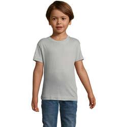 textil Børn T-shirts m. korte ærmer Sols REGENT FIT CAMISETA MANGA CORTA Gris