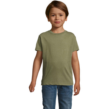 textil Børn T-shirts m. korte ærmer Sols REGENT FIT CAMISETA MANGA CORTA Kaki