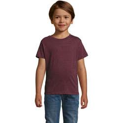 textil Børn T-shirts m. korte ærmer Sols REGENT FIT CAMISETA MANGA CORTA Azul
