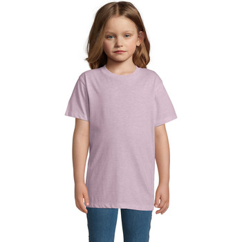 textil Børn T-shirts m. korte ærmer Sols REGENT FIT CAMISETA MANGA CORTA Rosa