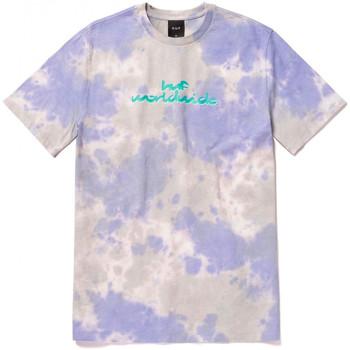 textil Herre T-shirts m. korte ærmer Huf T-shirt chemistry ss Violet