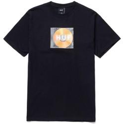textil Herre T-shirts m. korte ærmer Huf T-shirt mix box logo ss Sort