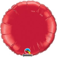 Indretning Festpynt Qualatex Taille unique Ruby Red