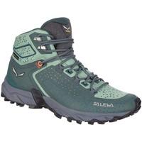 Sko Dame Vandresko Salewa WS Alpenrose 2 Mid GTX 61374-8540 green