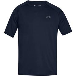 textil Herre T-shirts m. korte ærmer Under Armour UA005 Academy Blue/Graphite