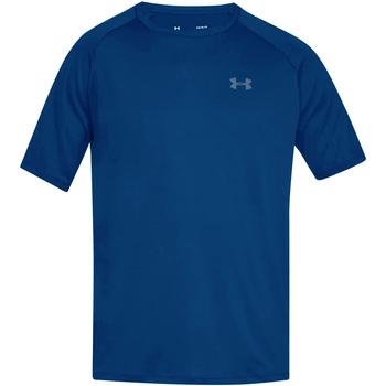 textil Herre T-shirts m. korte ærmer Under Armour UA005 Royal Blue/Graphite