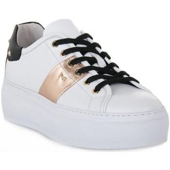 Sko Dame Lave sneakers NeroGiardini NERO GIARDINI  SKIPPER BIANCO Bianco