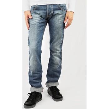 textil Herre Smalle jeans Wrangler Sencer W184EY20S blue