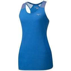 textil Dame Toppe / T-shirts uden ærmer Mizuno Aero Tank Blå