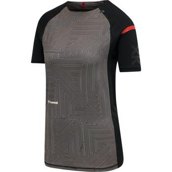 textil Dame T-shirts m. korte ærmer Hummel Maillot d'échauffement femme  hmlPRO XK noir/rose clair