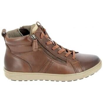 Sko Dame Høje sneakers Jana Boots 25202 Cognac Brun