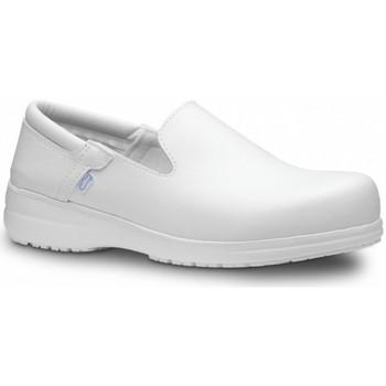 Sko Herre Slip-on Feliz Caminar Zapato Laboral SENSAI - Hvid