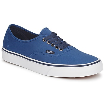 Sko Lave sneakers Vans AUTHENTIC Blå / Mørk