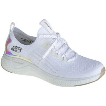 Sko Dame Lave sneakers Skechers Solare Fuse-Gravity Experience Hvid