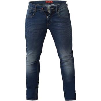 textil Herre Smalle jeans Duke  Dark Blue Stonewash