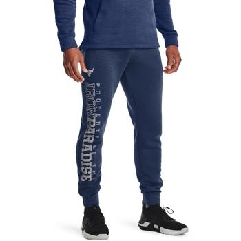 textil Herre Træningsbukser Under Armour UA Pjt Rock Blå