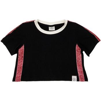 textil Børn T-shirts m. korte ærmer Naturino 6000719 01 Sort