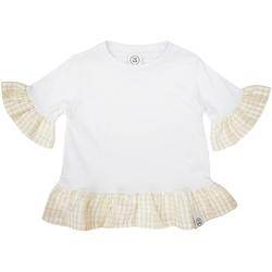 textil Pige T-shirts m. korte ærmer Naturino 6001011 01 hvid