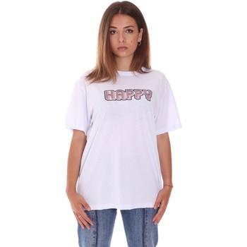 textil Dame T-shirts m. korte ærmer Naturino 6001026 01 hvid