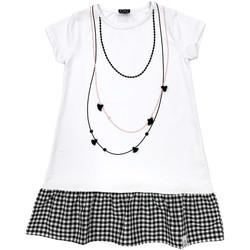 textil Pige Korte kjoler Naturino 6000724 01 hvid