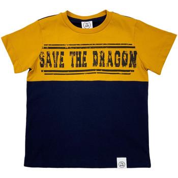 textil Børn T-shirts m. korte ærmer Naturino 6001018 01 Blå
