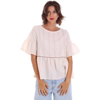 textil Dame Toppe / Bluser Naturino 6001027 01 Beige