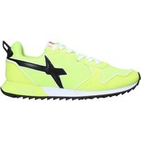 Sko Herre Lave sneakers W6yz 2013560 04 Gul