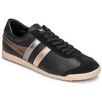 Sko Dame Lave sneakers Gola BULLET TRIDENT Sort / Guld