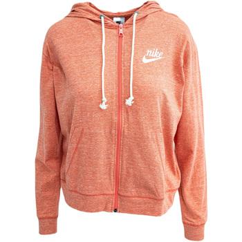 textil Dame Sweatshirts Nike Sportswear Gym Vintage Orange