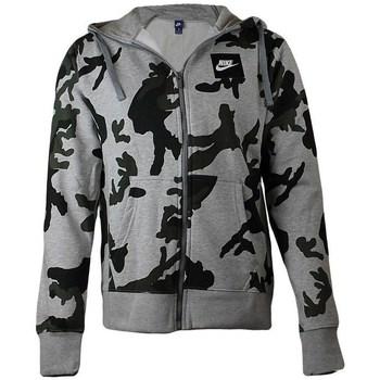 Sweatshirts Nike  Camo Tracktop Hoodie