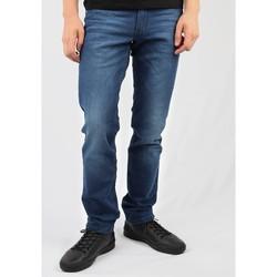 textil Herre Lige jeans Wrangler Greensboro W15QEH76 blue