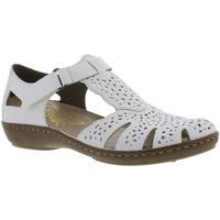 Sko Dame Sandaler Rieker Hartweiss Weiss Sandals hvid