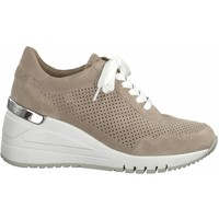 Sko Dame Lave sneakers Marco Tozzi Nude Casual Trainers Beige